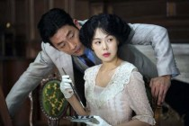 Ha Jung-woo et Kim Min-hee dans The Handmaiden (2016)