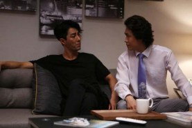 Cha Seung-won et Oh Jung-se dans Man on High Heels (2014)