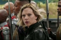 Scarlett Johansson dans Avengers: Infinity War (2018)