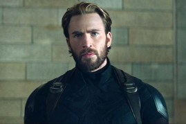 Chris Evans dans Avengers: Infinity War (2018)