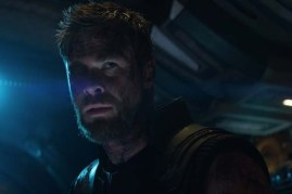 Chris Hemsworth dans Avengers: Infinity War (2018)