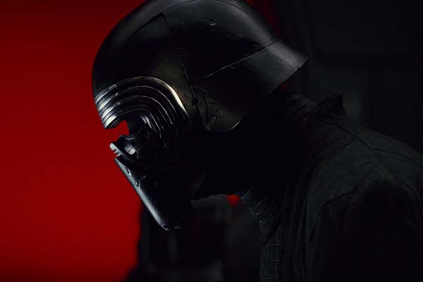 Adam Driver dans Star Wars: Episode VIII - The Last Jedi (2017)