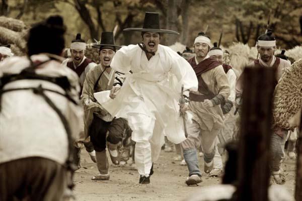 Cha Seung-won dans Blades of Blood (2010)