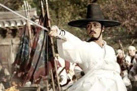 Cha Seung-won dans Blades of Blood (2010)