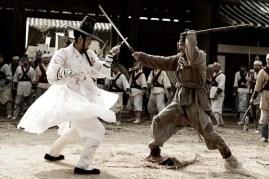 Hwang Jung-min et Cha Seung-won dans Blades of Blood (2010)