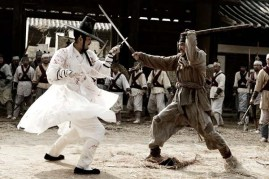 Hwang Jung-min et Cha Seung-won dans Blades of Blood (2010)