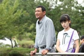 Hwang Jung-min et Ji Woo dans Fists of Legend (2013)