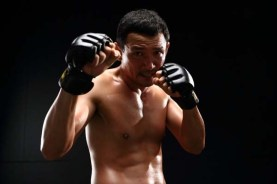 Hwang Jung-min dans Fists of Legend (2013)