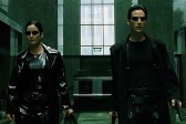 Keanu Reeves et Carrie-Anne Moss dans The Matrix (1999)