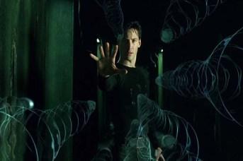 Keanu Reeves dans The Matrix (1999)