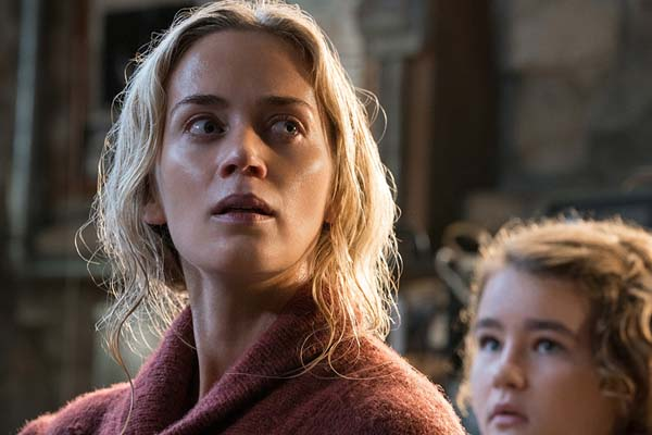 Emily Blunt et Millicent Simmonds dans A Quiet Place (2018)