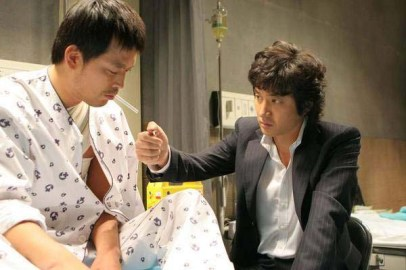 Jung Joon-ho et Jung Jae-young dans Righteous Ties (2006)