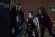 Luna Lauren Velez, Joivan Wade, Lex Scott Davis, et Kristen Solis dans The First Purge (2018)