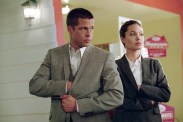 Brad Pitt et Angelina Jolie dans Mr. & Mrs. Smith