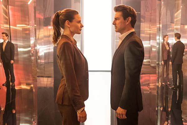 Rebecca Ferguson et Tom Cruise dans Mission: Impossible – Fallout (2018)
