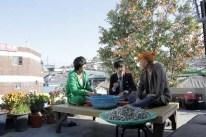 Kim Soo-hyun, Lee Hyun-woo et Park Ki-woong dans Secretly, Greatly (2013)