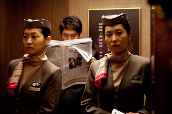 Sol Kyung-gu et Moon So-ri dans The Spy: Undercover Operation (2013)