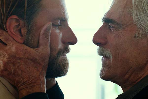 Sam Elliott et Bradley Cooper dans A Star Is Born (2018)