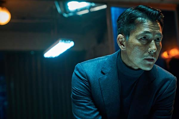 Jung Woo-sung dans Illang: The Wolf Brigade (2018)
