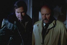 Donald Pleasence et Charles Cyphers dans Halloween (1978)