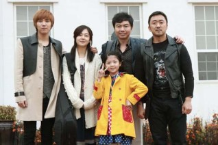 Lee Hong-ki, Baek Jin-hee, Ma Dong-seok, Im Won-hee et Jeon Min-seo dans Rockin' on Heaven's Door (2013)
