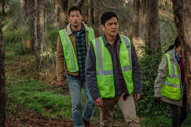John Cho dans Searching (2018)