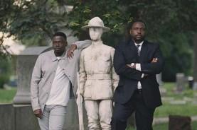 Daniel Kaluuya et Brian Tyree Henry dans Widows (2018)