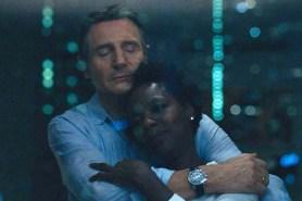 Liam Neeson et Viola Davis dans Widows (2018)