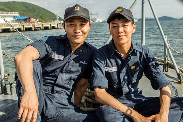 Goo Jin & Hyun-woo Lee in Northern Limit Line (2015)