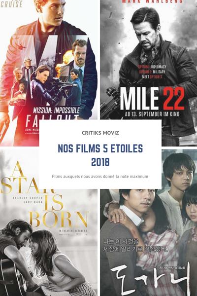 Nos films 5 étoiles