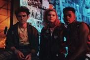 Granit Lahu, Chloe Levine et Jeremy Pope dans The Ranger (2018)