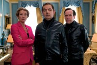 Rowan Atkinson, Emma Thompson, et Ben Miller dans Johnny English Strikes Again (2018)