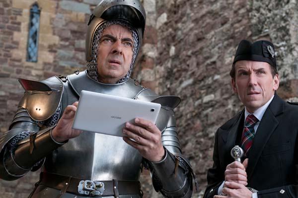 Rowan Atkinson et Ben Miller dans Johnny English Strikes Again (2018)