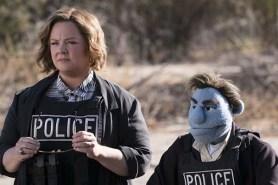 Bill Barretta et Melissa McCarthy dans The Happytime Murders (2018)