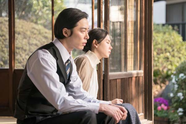 Kim Jae-wook et Son Ye-jin dans The Last Princess