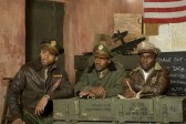 David Oyelowo, Nate Parker et Tristan Mack Wilds dans Red Tails (2012)