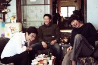 Ji Sung, Ju Ji-hoon et Lee Kwang-soo dans Confession (2014)