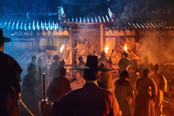 Ju Ji-hoon dans Kingdom (2019)