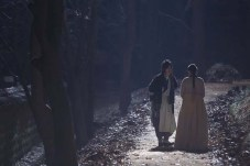 Yoo Seung-ho et Go Ara dans The Joseon Magician (2015)