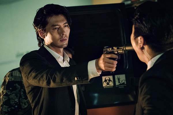 Hyun Bin dans The Negotiation (2018)