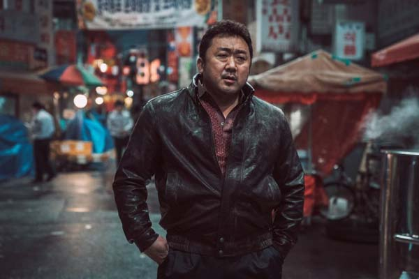 Ma Dong-seok dans The Outlaws (2017)
