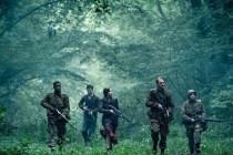 Wyatt Russell, John Magaro, Dominic Applewhite, Jovan Adepo, et Mathilde Ollivier dans Overlord (2018)