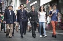 Kim Myung-min, Yoo Hae-jin, Byun Hee-bong, Jung Gyu-woon et Yoo Hae-jin dans The Spies (2012)