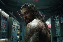 Jason Momoa dans Aquaman (2018)