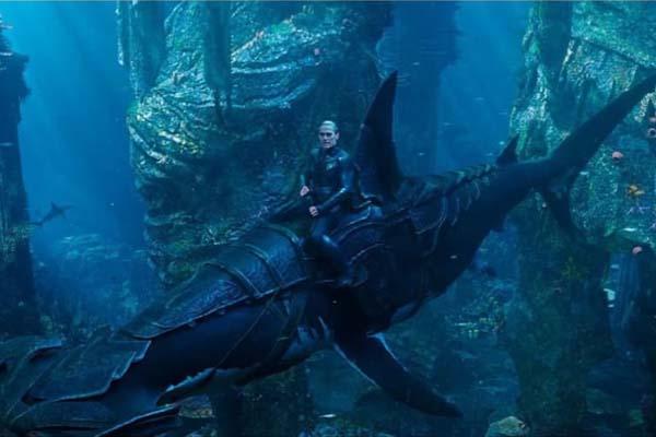 Willem Dafoe dans Aquaman (2018)