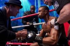 Michael B. Jordan et Sylvester Stallone dans Creed II (2018)
