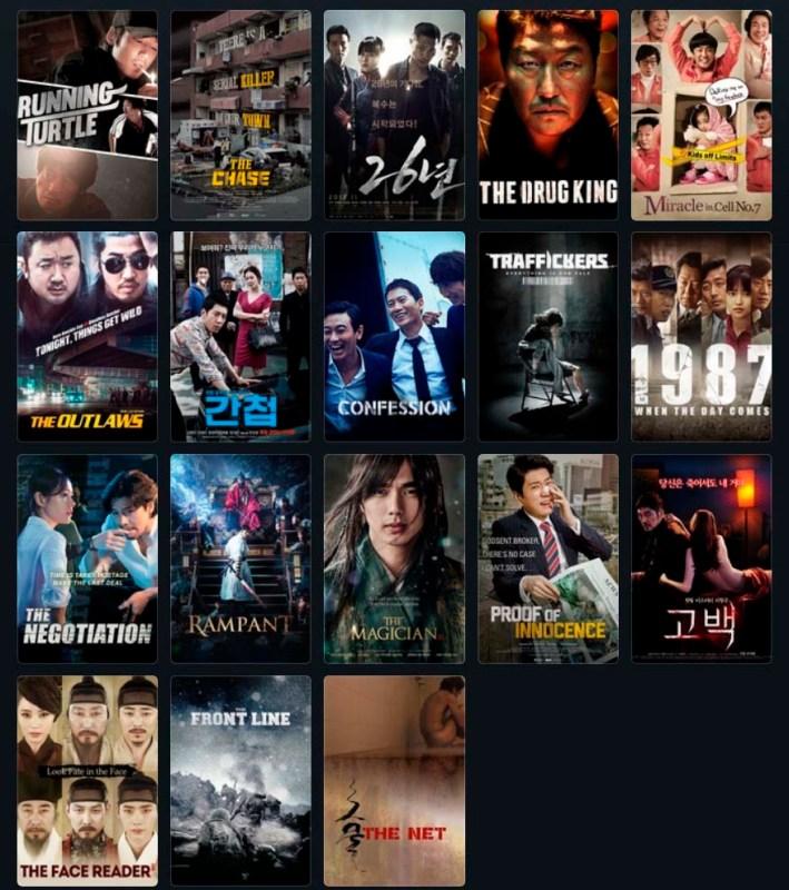 Films Coréens Février 2019