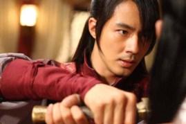 Jo In-sung dans A Frozen Flower (2008)