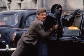 Harrison Ford et Sean Bean dans Patriot Games (1992)