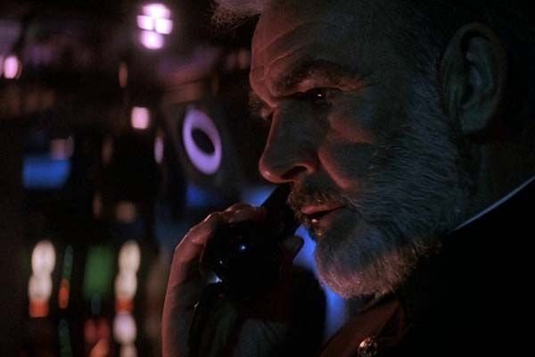 Sean Connery dans The Hunt for Red October (1990)